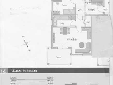 Gepflegte 3-Raum-Wohnung mit Balkon und Einbauküche in Weingarten