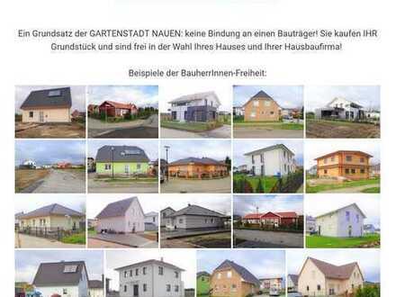 BauherrInnen-Freiheit: GARTENSTADT NAUEN