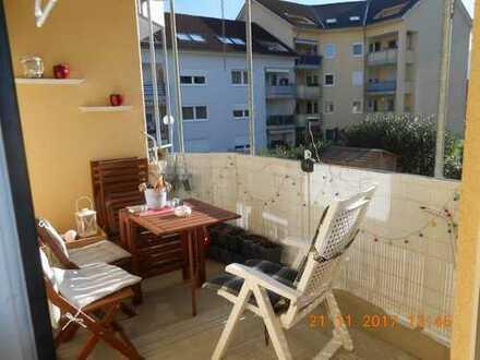 Gepflegte 3-Zimmer-Wohnung mit Balkon und EBK in Bad Säckingen