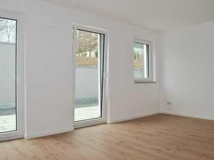 E & Co. - Großzügige 2-Zimmer Neubauwohnung mit riesiger West-Terrasse am Moniberg - Erstbezug