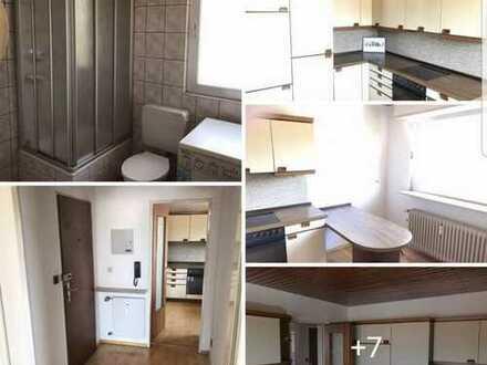 Gepflegte 2-Zimmer-Wohnung mit sehr großem Balkon und EBK in Worms