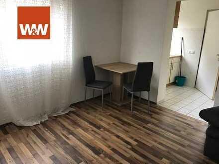 Vermietete 1,5 Zimmer Wohnung mit Stellplatz in Zaisersweiher!