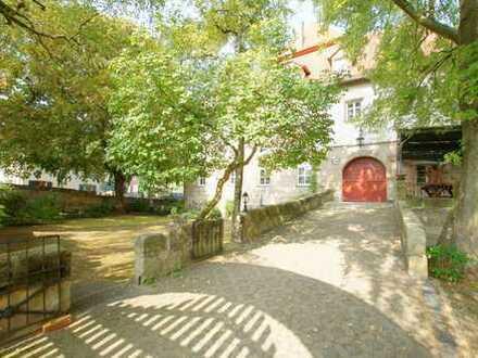 Liebevoll modernisierte Maisonettenwohnung im Schloss im Herzen von Kalchreuth