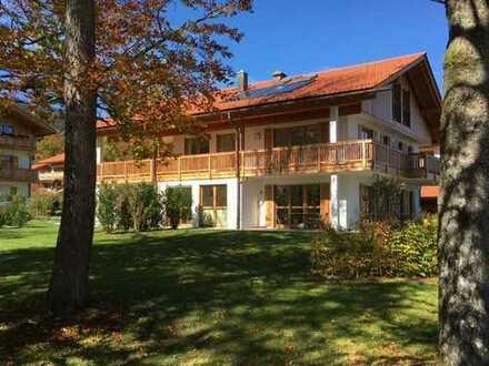 Exklusive und ruhige 3-Zimmer-EG-Wohnung in Bad Wiessee