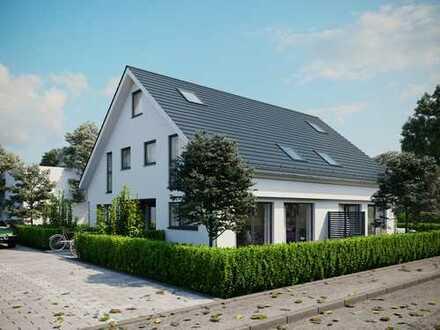 Hier entstehen durch die Fa. CENTRA vier attraktive Eigentumswohnungen in Geisenheim-Johannisberg