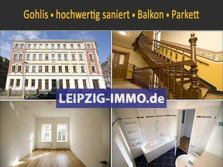 ** edel sanierte Wohnung in Gohlis ** Balkon ** Parkett ** Stuck