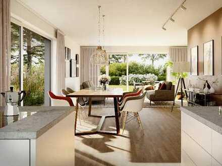 Fein & Fröhlich – Doppelhaushälfte mit 149 m² in Süd-/Westlage