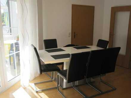 Günstige, gepflegte 3-Zimmer-Wohnung mit Balkon und Einbauküche in Dornstetten