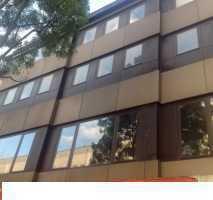 Büroräume, bei Bedarf mit Lokalität, zentral gelegen mit Garage am Kugelbrunnen