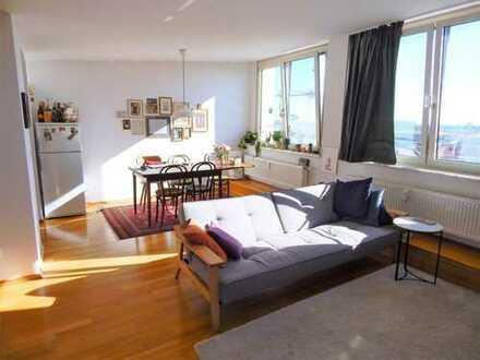 Moderne 2-Zimmer-Wohnung mit tollem Ausblick