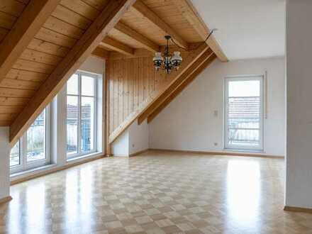 Sonnige Maisonettewohnung mit drei Balkonen - ein Steinwurf zum Saliensee im ausgewählten Umfeld