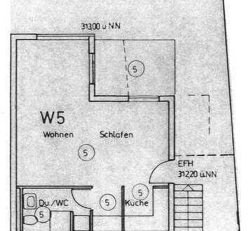 Stuttgart-Weilimdorf – 1-Zimmer-Apartment, mit Terrasse und Küchenzeile - Für Kapitalanleger oder E