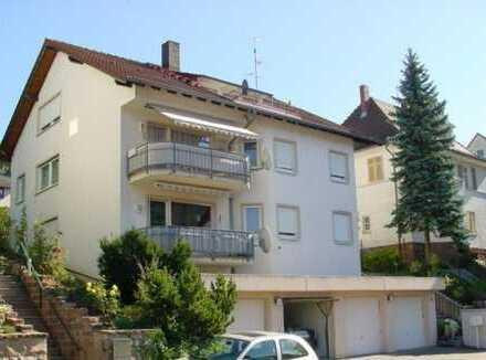 Gepflegte 4-Zimmer-Wohnung in schöner Aussichtslage von Neckarsteinach