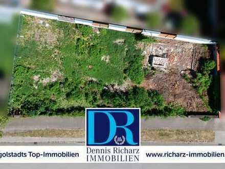 Baugrundstück in Top-Lage Gerolfing mit genehmigten Plänen für DHH Bebauung! EFH ebenfalls möglich!