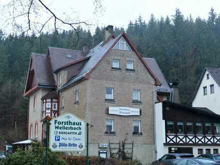 Gewerbeobjekt - Gaststätte - Pension im idyllischen Frankenwald mit viel Potential