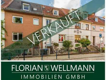 Bremen - Buntentor   Tolle Maisonette Wohnung in ruhiger Seitenstraße nahe Werdersee