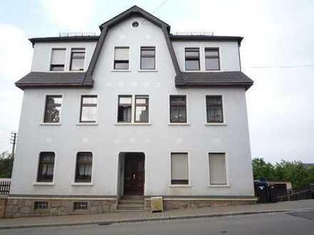 im Zentrum von Bernsbach-Wohnung mit Blick ins Tal