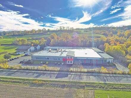 Halle in Gewerbekomplex: Ideal für Lager / Fertigung / Gastronomie! 350 - 980 m²
