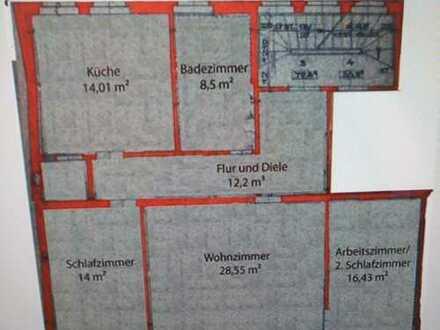 Große 3-Zimmer-Wohnung nahe der Alten Mainbrücke