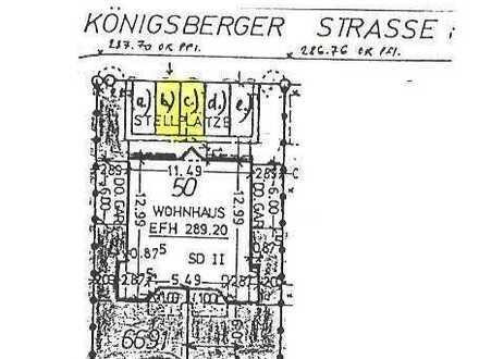 Außen-Stellplatz in Möglingen