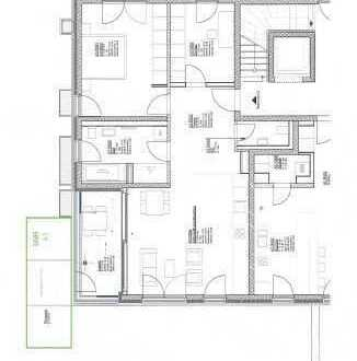 Hochwertige 3 Zi. Neubau Whg. mit 88m² Wfl. + TG auf Parkgrundstück