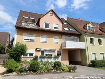 Über den Dächern von Donaueschingen - 3 Zimmer-Maisonett