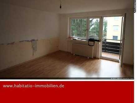 Sehr ruhig gelegen! Günstige 3 Zimmer Wohnung mit Potential! Einzel Garage!