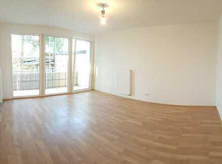 Erstbezug nach Sanierung: schöne 2-Zimmer-Wohnung mit Einbauküche und Balkon in Ampfing