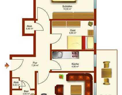 Gepflegte Eigentumswohnung mit Fahrstuhl
