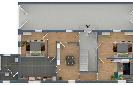 4 Zimmer-Eigentumswohung mit Tageslichtbad + PKW-Stellplatz in zentraler Lage von Herxheim