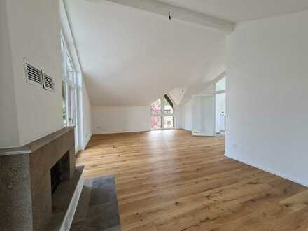 Komfort-Neubaustandard mit Kamin!  DG-Maisonette-Whg. ruhig u. zentral - 82319 Starnberg