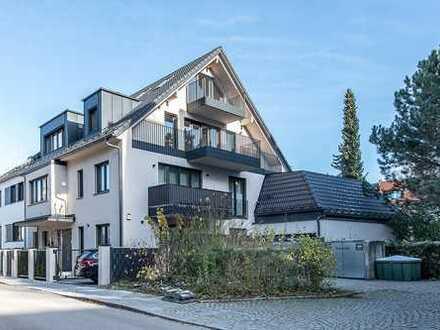 Erstbezug: 4-Zimmer-Maisonette mit Terrasse und Balkon