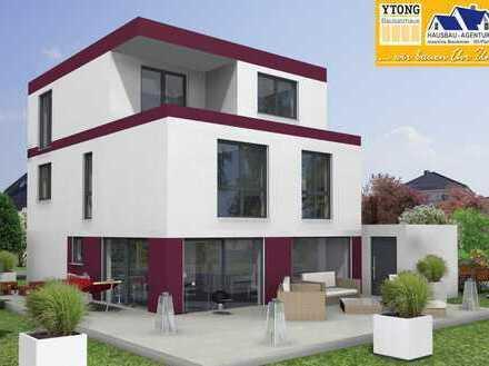 Modernes Wohnen, schlüsselfertig, massiv in YTONG in ruhigem Wohngebiet von Gr.-Zimmern.