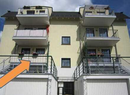 Vierraumwohnung mit Blick über Kirchberg