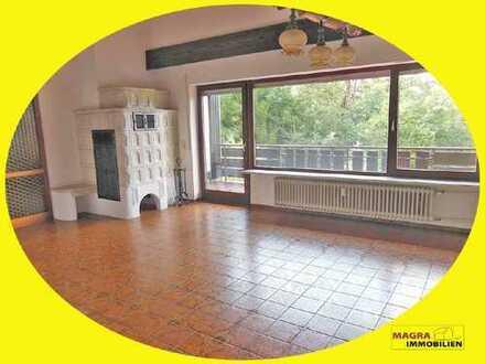 Lauterbach / Wohnen wie im Einfamilienhaus! Sonnige 6,5-Zimmer-Galerie-Wohnung