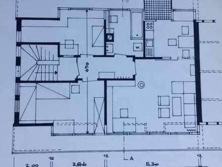 Gepflegte Dachgeschosswohnung mit zweieinhalb Zimmern in Karlsruhe - Dammerstock