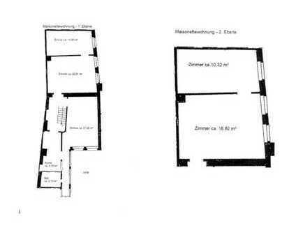 Sanierte 5-Zimmer-Maisonette-Wohnung mit EBK in der Heidelberger Altstadt