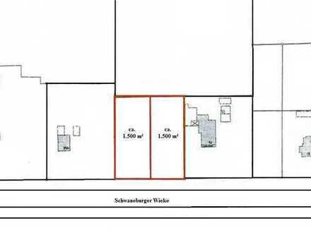 Hansestadt Friesoythe - 2 Baugrundstücke in ländlicher Siedlungslage im OT Schwaneburg