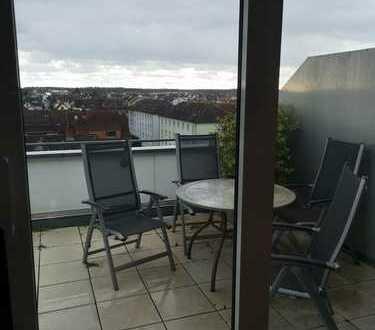 Exklusive, modernisierte 4-Zimmer-Maisonette-Wohnung mit Balkon und Einbauküche in Schwetzingen