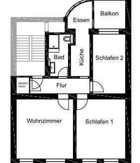 Erstbezug nach Sanierung mit EBK: 3-Zimmer-Wohnung in Bonn