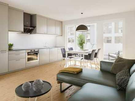 Großzügig und behaglich! 4-Zi.-Wohnung mit offenem Wohn-/Ess-/Kochbereich und Balkon in toller Lage