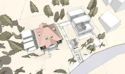 Metzendorfvilla mit zusätzlichem Bauplatz in bester Lage Bergstraße