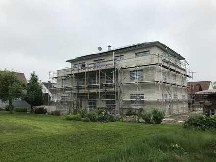 Erstbezug: Lichtdurchflutete 3,5-Zimmer-Wohnung mit Einbauküche und Terrasse in Alberweiler