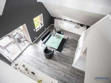 Traumhaft schön designtes und modernisiertes ca.160 qm Penthouse mit Südbalkon. In Korschenbroich.