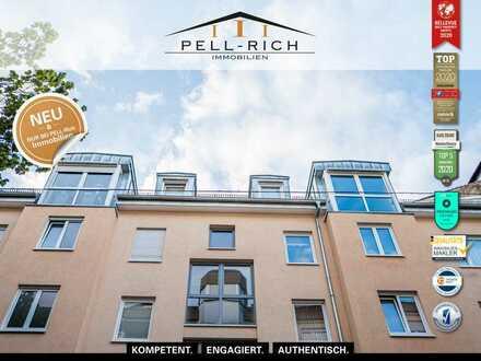 WOHNGENUSS MIT AUSSICHTSPLUS: Maisonette-Wohnung mit Balkonblick ins Grüne in der Weststadt