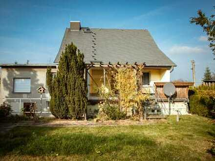 RE/MAX**Familien aufgepasst! Einfamilienhaus im Grünen in Dresden Weißig sucht neue Eigentümer!