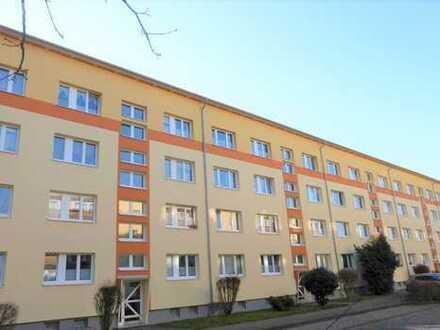 Ruhig gelegene 2-Zimmer-Wohnung mit Balkon und Keller in Neuruppin