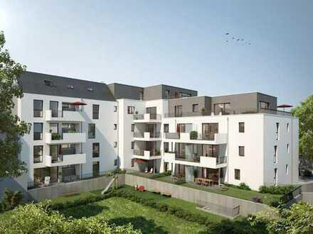 Weitblick über Düsseldorf-Hassels - Penthouse-Wohnung mit Einbauküche und großer Dachterrasse