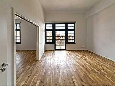Bild_Filmfabrik - Stilvolle 2-Zimmer-Wohnung mit Balkon und Einbauküche in Köpenick, Berlin