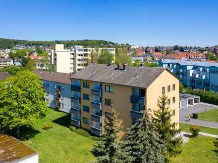 Gut geschnittene 3 Zimmer-Wohnung in Amberg - Wohnberechtigungsschein erforderlich